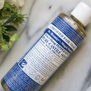 Clean your locs with castile soap